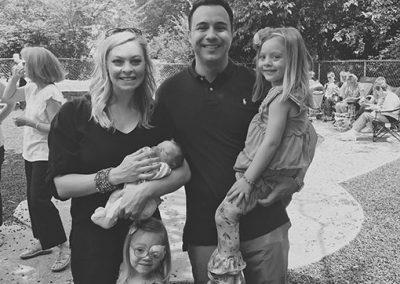 Keck Family at St Patrick's Preschool